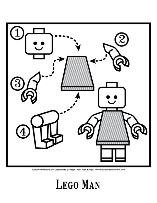 lego birthday party free printables