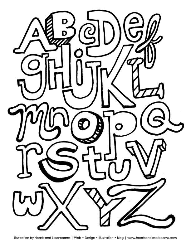 The ABC Letters Free Printable Coloring Book Sheet Inspired By My Son Phils Lively Rendition Of Alphabet Yesterday I Created